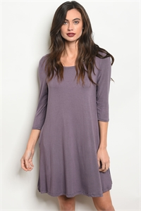 S10-12-5-D5211 PURPLE DRESS 2-2-2