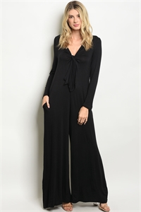 S16-4-4-J8114 BLACK JUMPSUIT 2-2-2