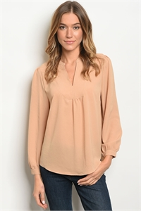 S19-8-4-T11003 TAUPE TOP 1-2-2