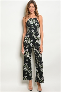 110-4-1-J20509-3 BLACK FLORAL JUMPSUIT 2-2-2