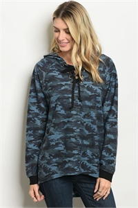 S7-2-5-T23473 DENIM CAMOUFLAGE SWEATER 2-2-2