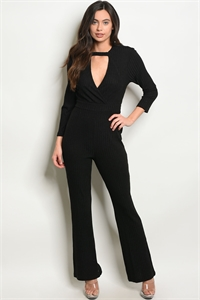 S9-5-3-J38677 BLACK JUMPSUIT 2-2-2