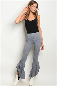 S13-11-3-P13517 BLACK WHITE PANTS 3-2-1