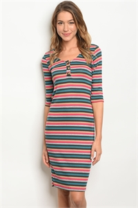 C101-A-4-D3844249 MULTI COLOR DRESS 2-2-2-1