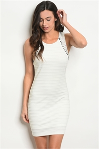 126-3-1-D2361 OFF WHITE DRESS 3-2-2