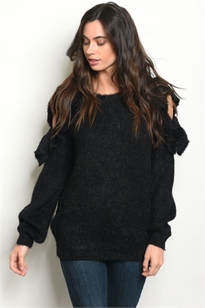 SA3-6-4-S121309 BLACK SWEATER 2-2-2