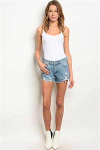 S13-10-2-S25 BLUE DENIM SHORTS 2-2-1-1