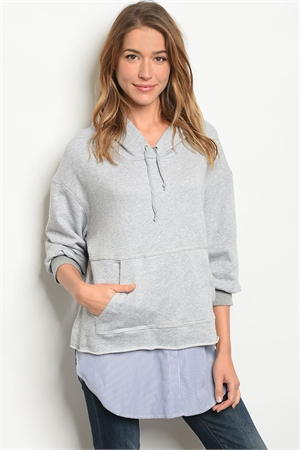 S13-5-4-T30953 GRAY BLUE TOP 2-2-2