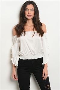 C8-B-2-T7766 OFF WHITE TOP 2-2-2