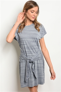 C69-A-4-D11231-2 NAVY GREY DRESS 2-2-2