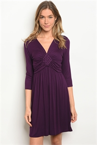 C42-A-2-D10494 PURPLE DRESS 2-2-2