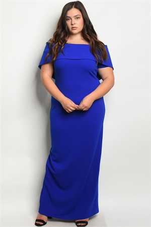 S3-4-1-D9060X ROYAL PLUS SIZE DRESS 2-2-2
