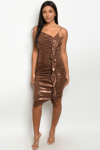 S10-15-5-D72225 BRONZE DRESS 2-2-2  ***WARNING: California Proposition 65***