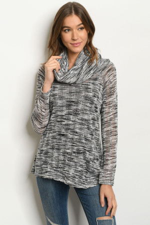 C80-B-4-T3318 GRAY BLACK TOP 2-2-2