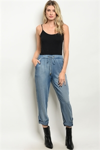 S2-7-2-P3783 DENIM BLUE PANTS 2-2-2