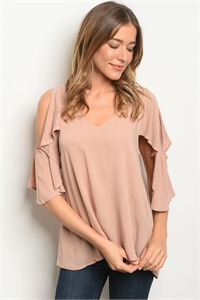 240-1-5-T23550 TAUPE TOP 1-3-2