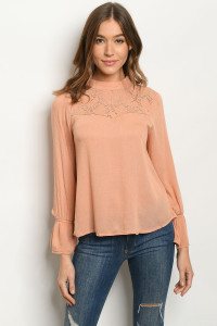 S21-10-2-T9339 BLUSH TOP 2-2-2