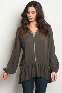 C26-A-1-T5209 OLIVE TOP 2-2-2