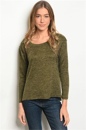 S12-2-3-T10188 OLIVE TOP 2-2-2