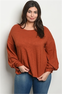134-1-1-T24094X EARTH PLUS SIZE TOP 3-2-1