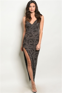 C9-A-5-NA-D31273 BLACK GOLD DRESS 2-2-1