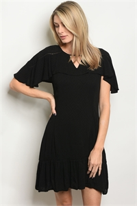 S13-10-2-DS6389 BLACK DRESS 1-1