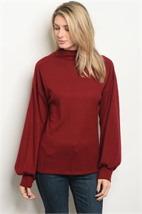 C73-A-1-T3113 BURGUNDY TOP 1-2-2