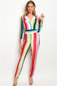 C4-A-1-J10300 MULTI COLOR JUMPSUIT 3-3