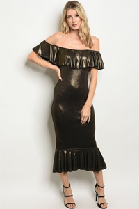 C43-A-4-D170097 BLACK GOLD DRESS 2-2-2