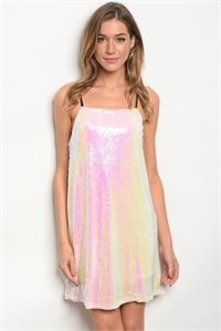 S3-7-4-NA-D17299 PEARL W/ SEQUINS DRESS 2-2-2