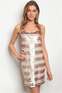 C80-A-3-D679 BLUSH IVORY W/ SEQUINS DRESS 3-3