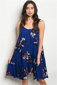 S20-10-4-D40657 ROYAL FLORAL DRESS 2-2-2