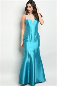 S11-20-1-D27165 TURQUOISE DRESS 2-2-2