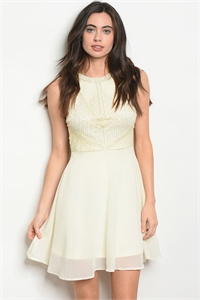 S11-15-2-D210403 CREAM WITH BEADS DRESS 2-2-2