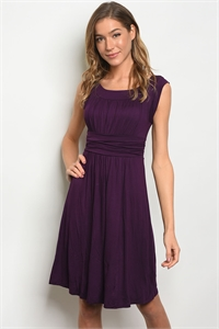 C64-A-4-D0131 PURPLE DRESS 1-2-3-1-1
