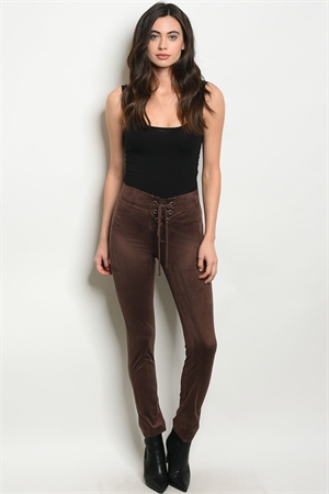 C81-A-4-P262 BROWN PANTS 2-2-2