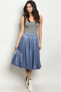 C46-B-1-S7026 DENIM SKIRT 2-2