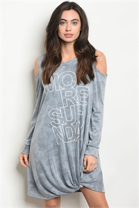 C34-A-2-D11087 BLUE WASHED DRESS 2-2-2