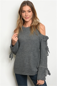 S12-7-2-S121447 CHARCOAL SWEATER 2-2-2