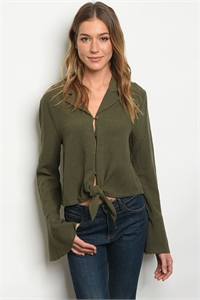 S20-12-6-T24254 OLIVE TOP 2-1-1