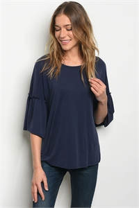 C43-B-1-T0530 DEEP BLUE TOP 2-2