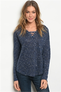 S3-4-4-T23700 NAVY SWEATER 2-2-2