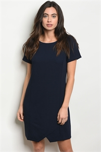 S19-7-4-D10010 NAVY DRESS / 3PCS