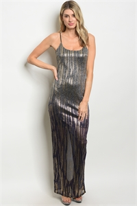 C41-A-3-D23639 PURPLE GOLD DRESS 2-2-2