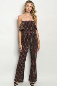 S20-6-5-J50377 SILVER EARTH METALLIC JUMPSUIT 2-2-2