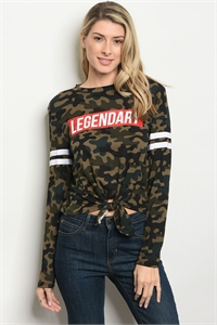 S18-2-1-T6081 CAMOUFLAGE LEGENDARY PRINT TOP 1-2-2-1