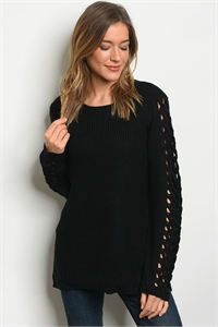 S13-11-2-S121402 BLACK SWEATER 2-2-2