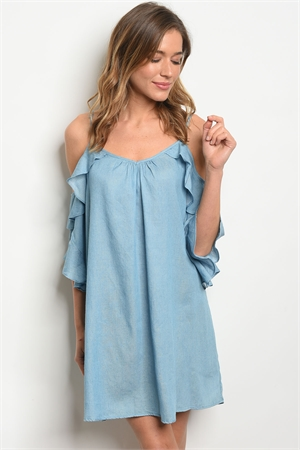 S18-13-1-D5895 BLUE DENIM DRESS 2-2-2