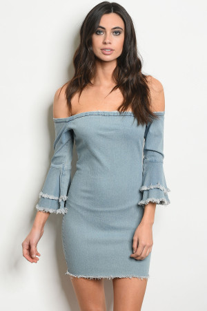 S21-3-4-D20895 BLUE DENIM DRESS 2-2-2