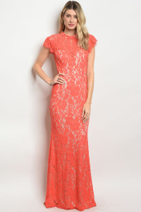 S11-18-3-D24567 CORAL NUDE DRESS 2-2-2